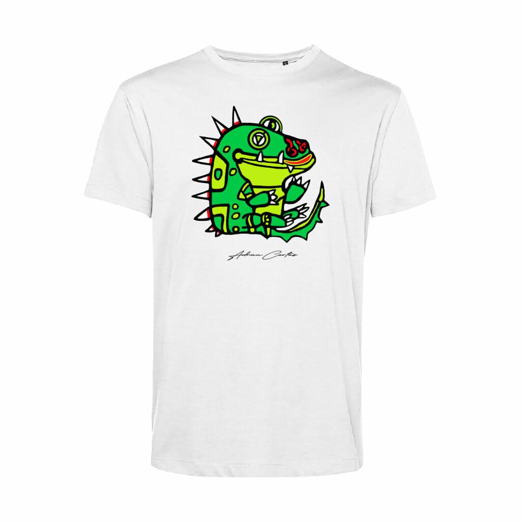camiseta blueinside cocodrilo