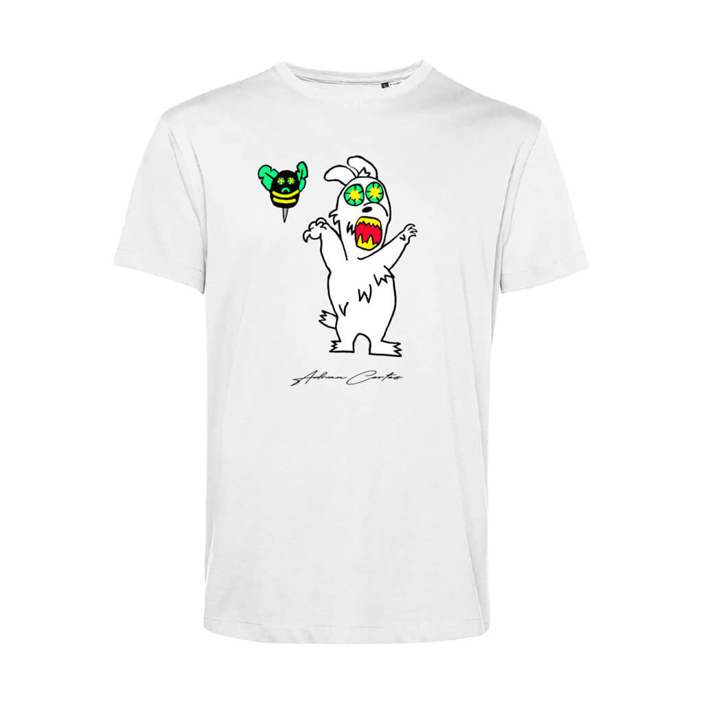 camiseta blueinside conejo zombie