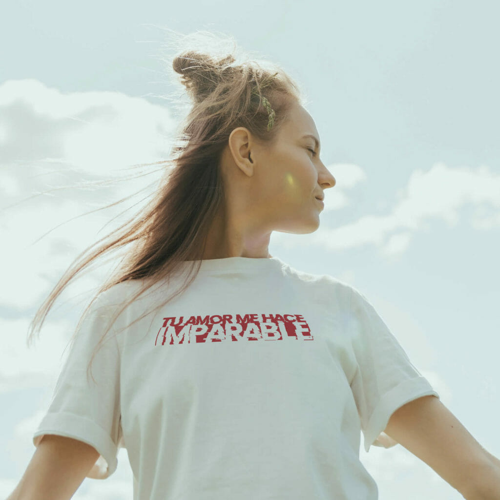 Camiseta -Amor - Modelos D