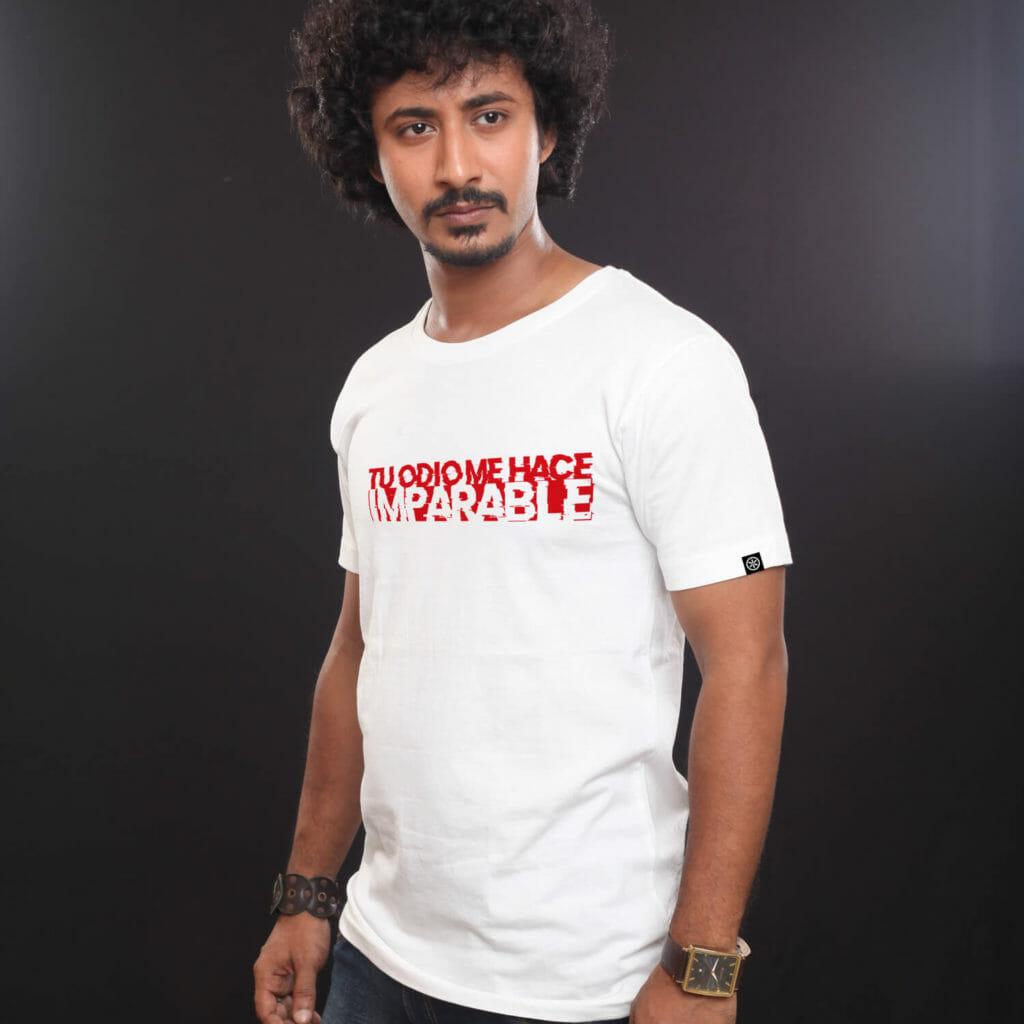 Camiseta -Odio - Modelos C