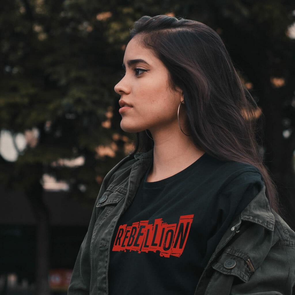Camiseta -Rebellion - Modelos E